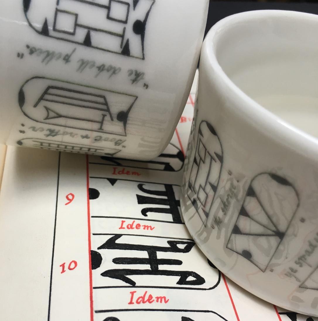 swan mugs